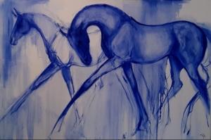 Graceful In Blue