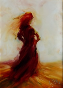 Lady In Red Dancing