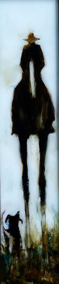 The Rustlerweb oil on glass 525x112$640 jpg